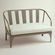 Gunmetal Palm Cove Occasional Bench