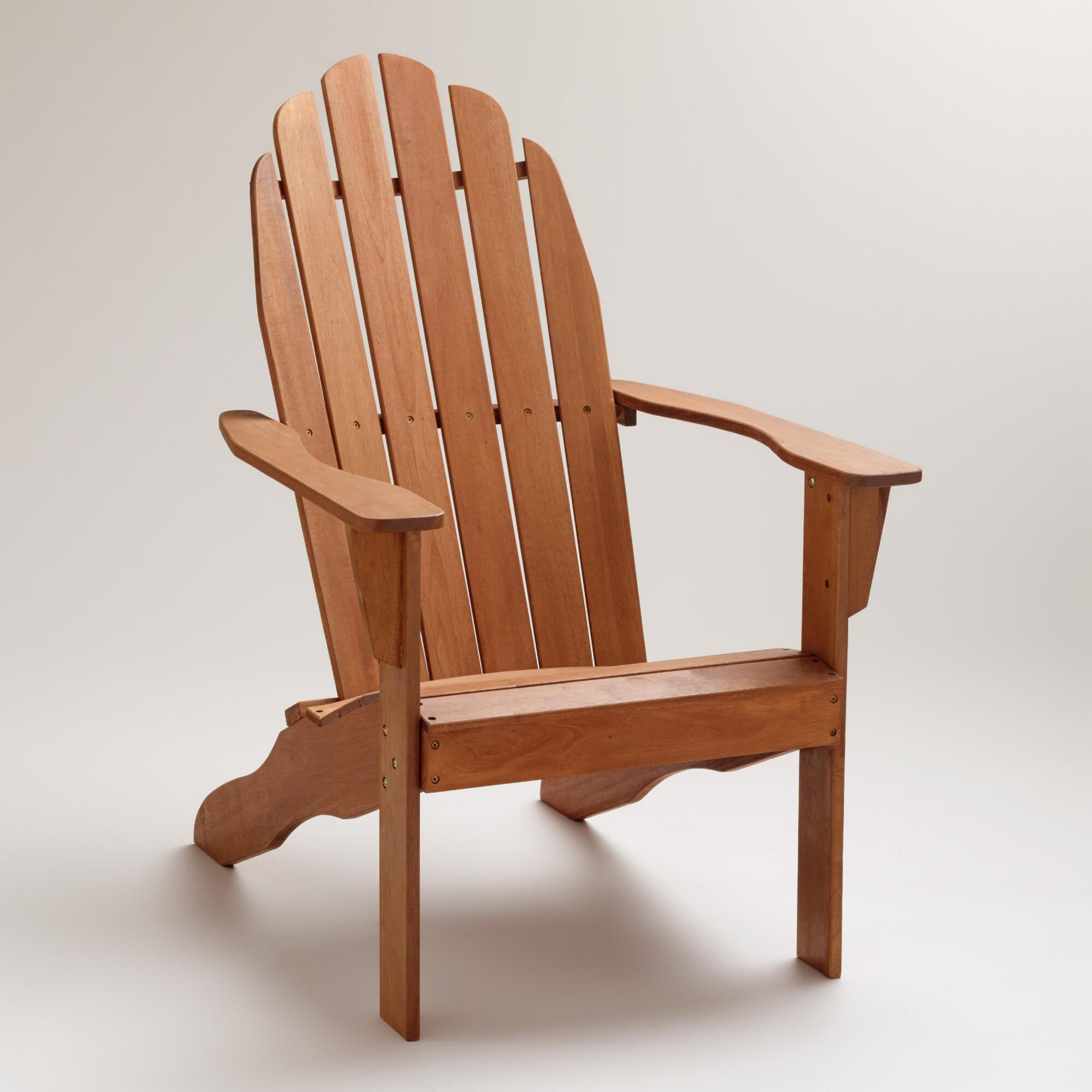 Natural Classic Adirondack Chair World Market