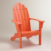 Koi Orange Classic Adirondack Chair