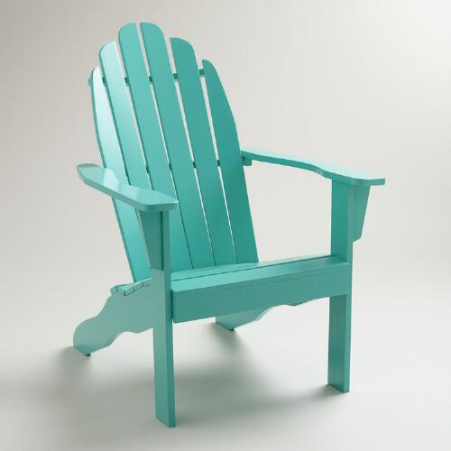 Baltic Blue Classic Adirondack Chair