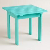 Baltic Blue Classic Adirondack Side Table