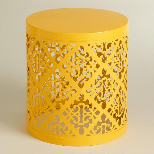Yellow Lailani Stool