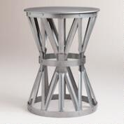 Gunmetal Lawford Accent Table