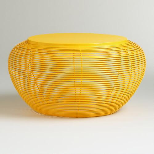 Yellow Carilo Coffee Table
