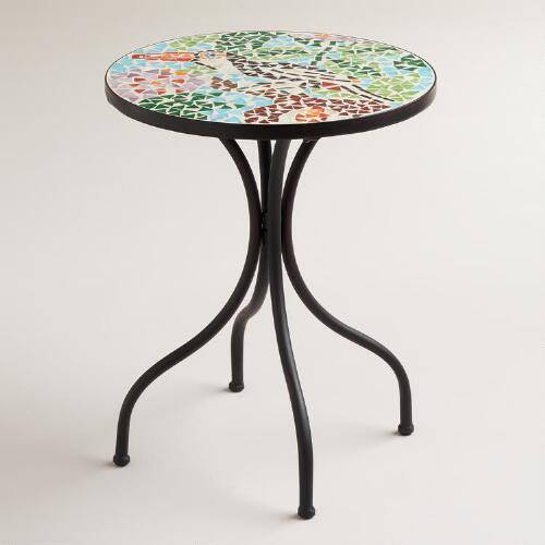 Toucan Cadiz Mosaic Accent Table