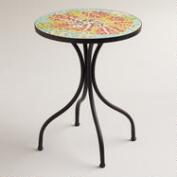 Flower Cadiz Mosaic Accent Table