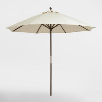 Gray 9 ft Umbrella Frame