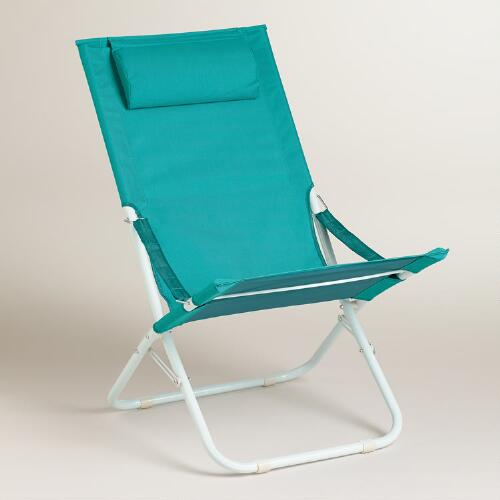 Fanfare Blue Beach Chair