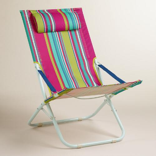 Thai Stripe Beach Chair