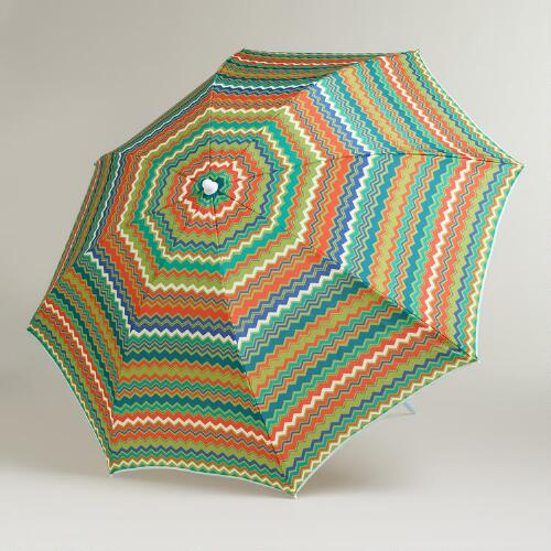 Zigzag Beach Umbrella