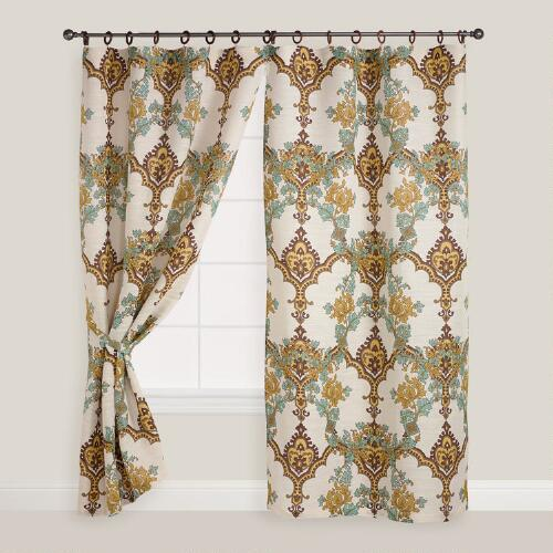 Jute Angeline Curtain