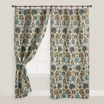 Jute Spring Bliss Curtain