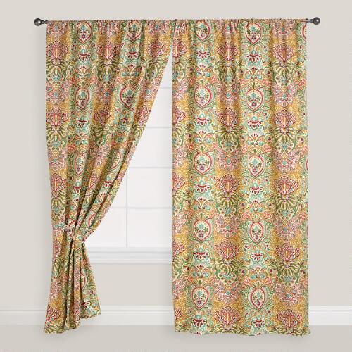 Multicolor Mira Curtain
