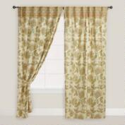 Floral with Border Kunika Curtain