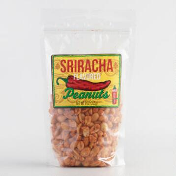 World Market® Sriracha Peanuts, Set of 4