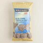 World Market® Blue Tortilla Chips with Flax Seeds