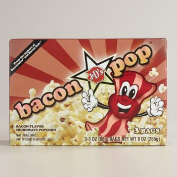 J&D's Bacon Popcorn, Set of 6