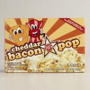 J&D's Cheddar Bacon Popcorn, Set of 6