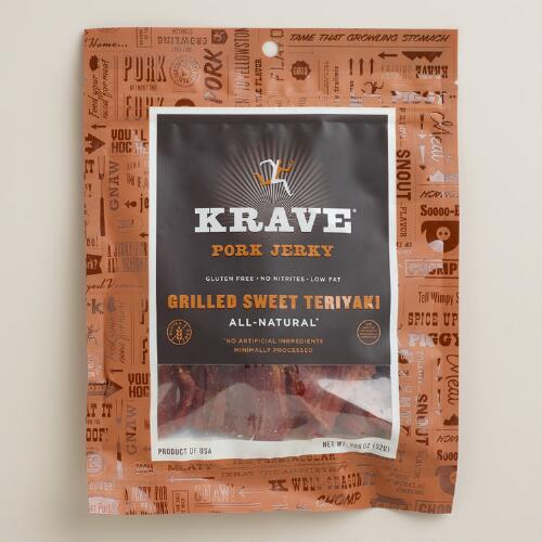 Krave Teriyaki Pork Jerky