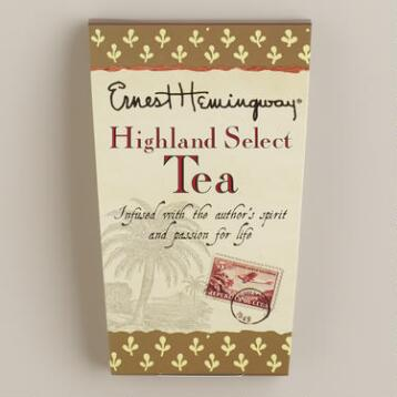 Ernest Hemingway Highland Select Tea, 10-Count