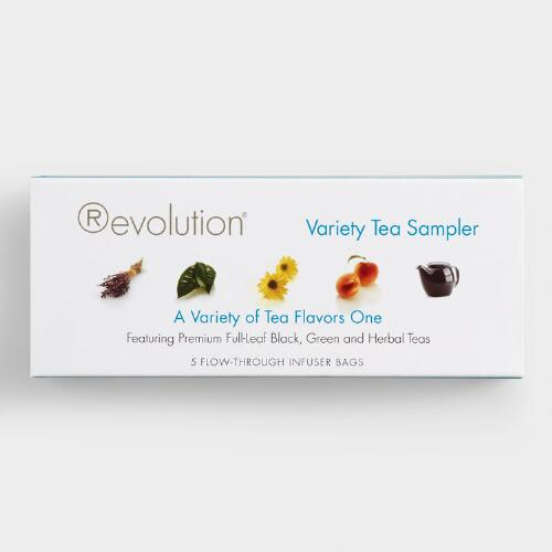 Revolution Tea Variety Pack, 5-Count