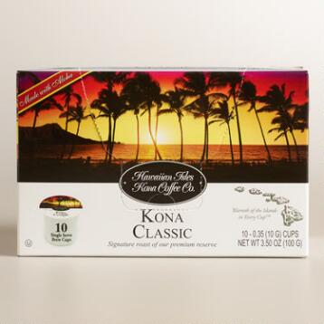 Hawaiian Isles Kona Classic Single Serve Coffee Cups
