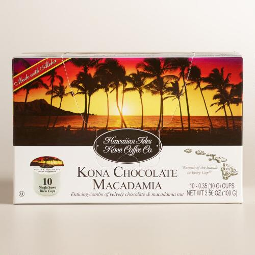 Hawaiian Isles Chocolate Macadamia Coffee Cups