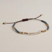 Arrow Bead Friendship Bracelet