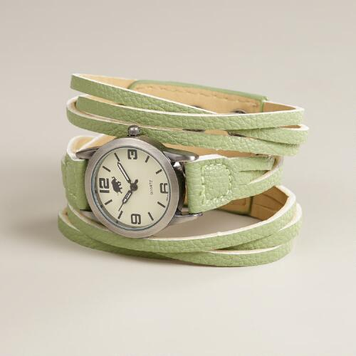 Mint Multi-Strand Watch