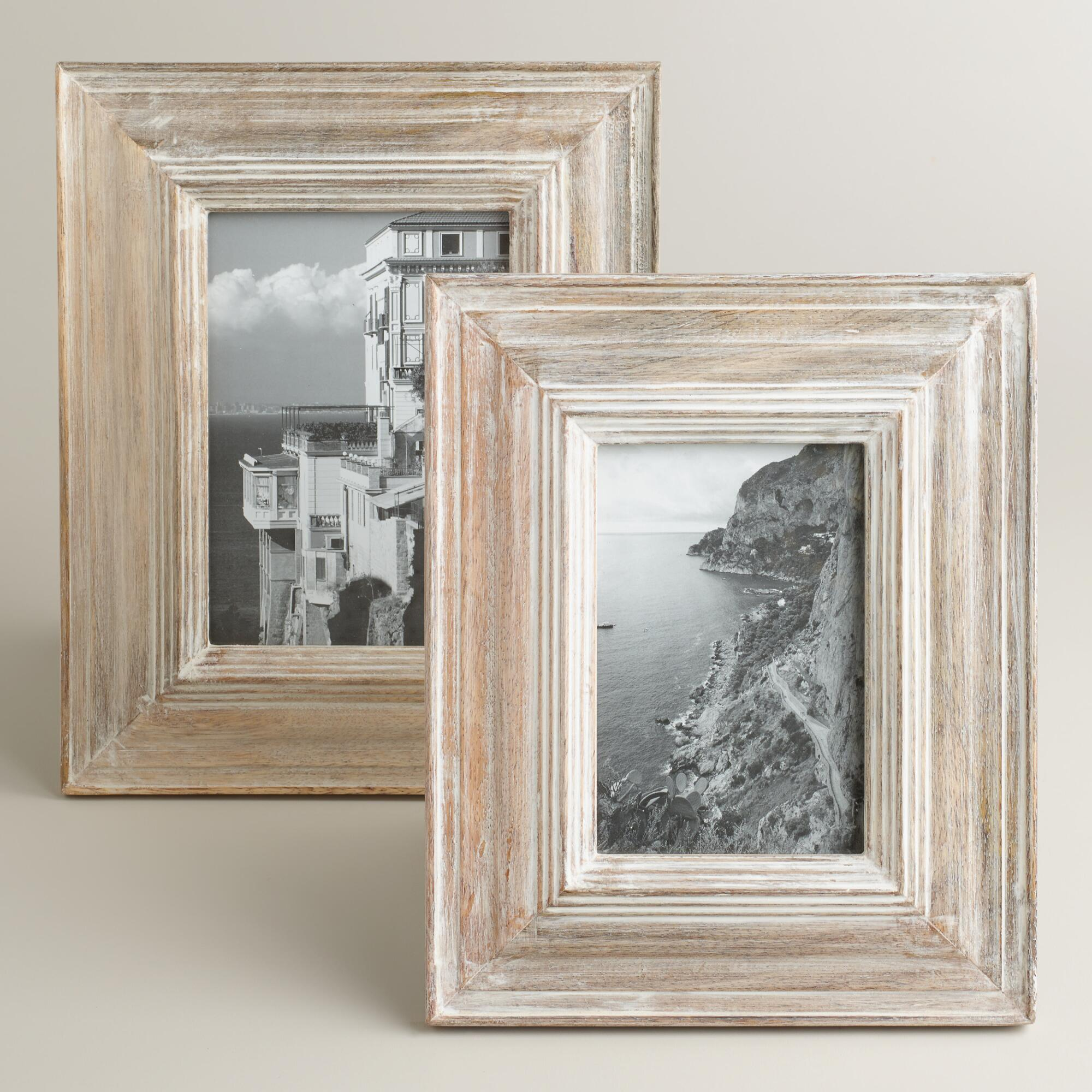 Whitewashed Picture Frames - Proga | Info