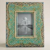 Hand-Painted Raya Scalloped Frame