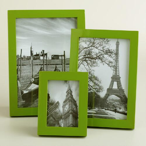 Peridot Green Emery Lacquer Frames