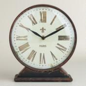 Black Taylor Tabletop Clock