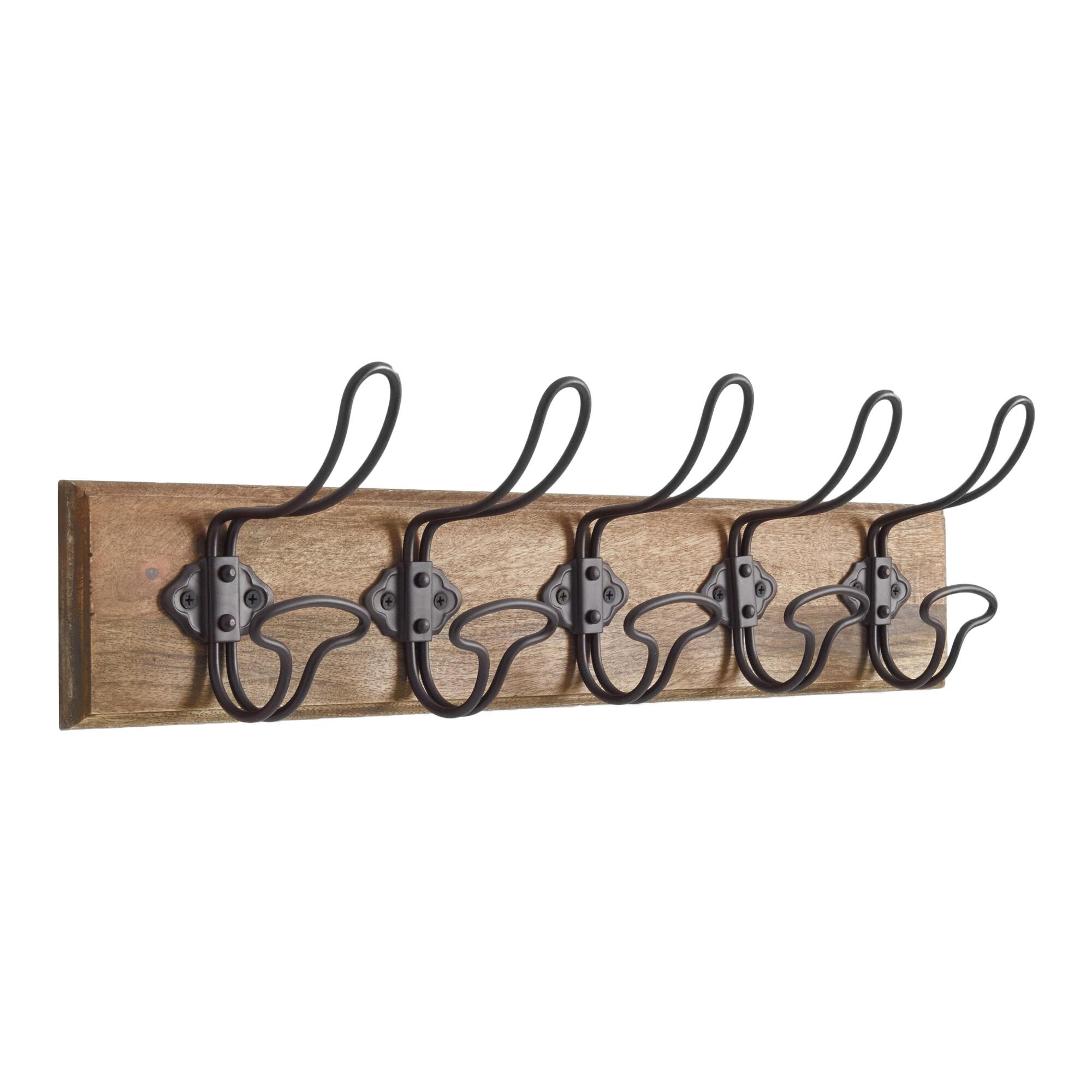 Industrial wall rack world market for Wall pegs and racks