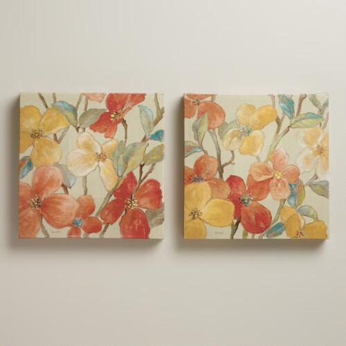 """Garden Party I and II"" by Lanie Loreth, Set of 2"