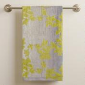 Botanical Ombre Jacquard Bath Towel