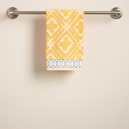 Pioneer Geo Sculpted Hand Towel