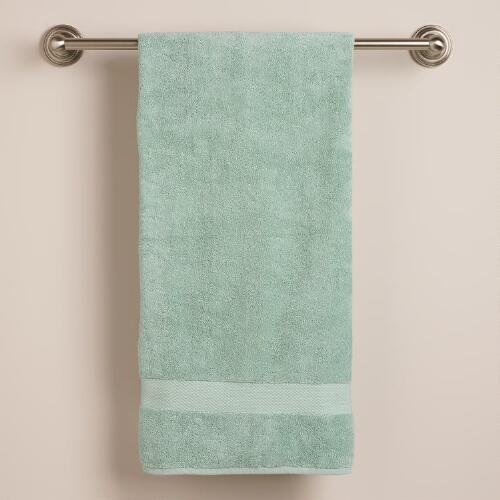 Harbor Blue Bath Towel