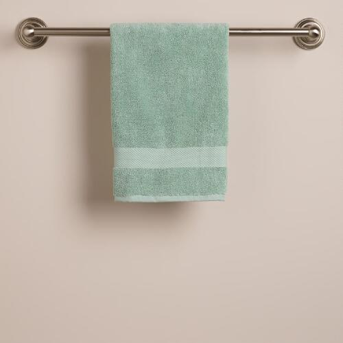 Harbor Blue Hand Towel