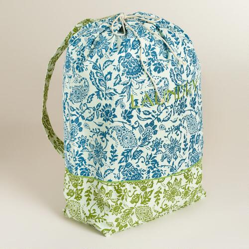 Bliss Paisley Laundry Bag