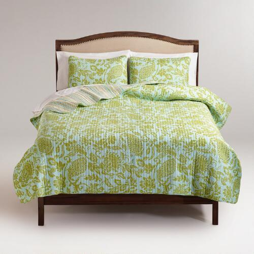 Bliss Paisley Bedding Collection