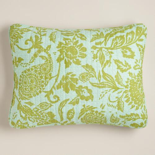 Bliss Paisley Pillow Shams, Set of 2