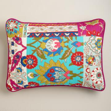 Istanbul Patchwork Pillow Shams, Set of 2