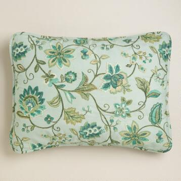 Floral Liliana Pillow Shams, Set of 2