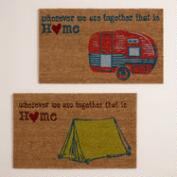 Camper and Tent Doormats