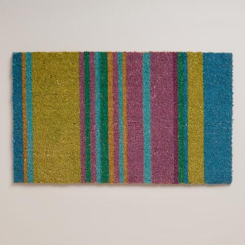 Summer Stripe Doormat
