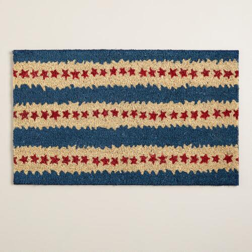 Stars and Stripes Americana Doormat