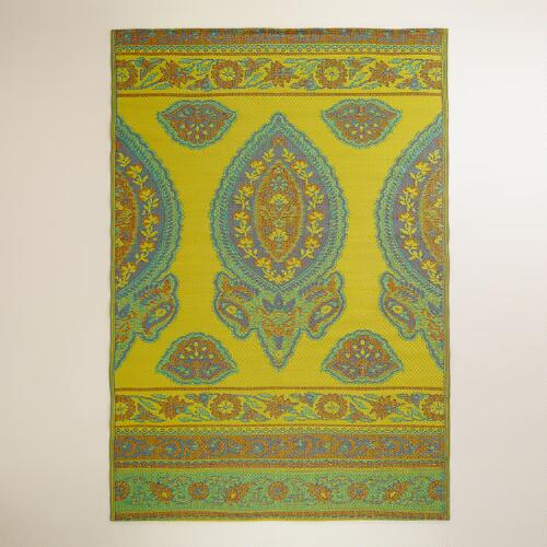 Maria Paisley Rio Indoor-Outdoor Floor Mat