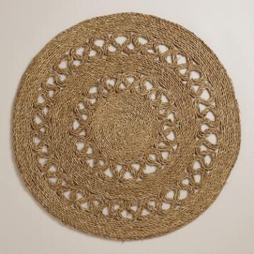 3' Round Seagrass Matting