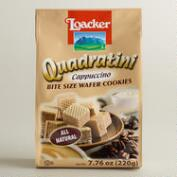 Loacker Quadratini Cappuccino Wafer Cookies